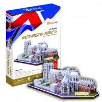 Bộ xếp hình 3D Tu viện Westminster Cubic Fun MC121H