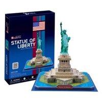 Bộ xếp hình 3D tượng nữ thần tự do Statue of Liberty Cubic Fun C080H