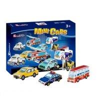 Bộ xếp hình 3D xe hơi Mini Cars CubicFun S3019H