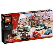 Bộ xếp hình Cà phê V8 của Flo Lego Racers 8487