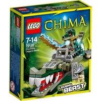 Bộ xếp hình Cá sấu huyền thoại Lego Chima 70126