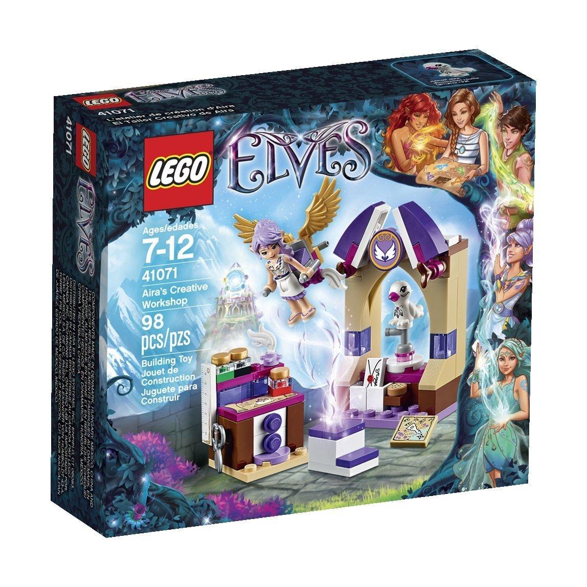 Bộ xếp hình Căn phòng sáng tạo của Aira Lego Elves 41071