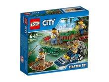 Bộ xếp hình Cảnh sát đầm lầy Lego City 60066