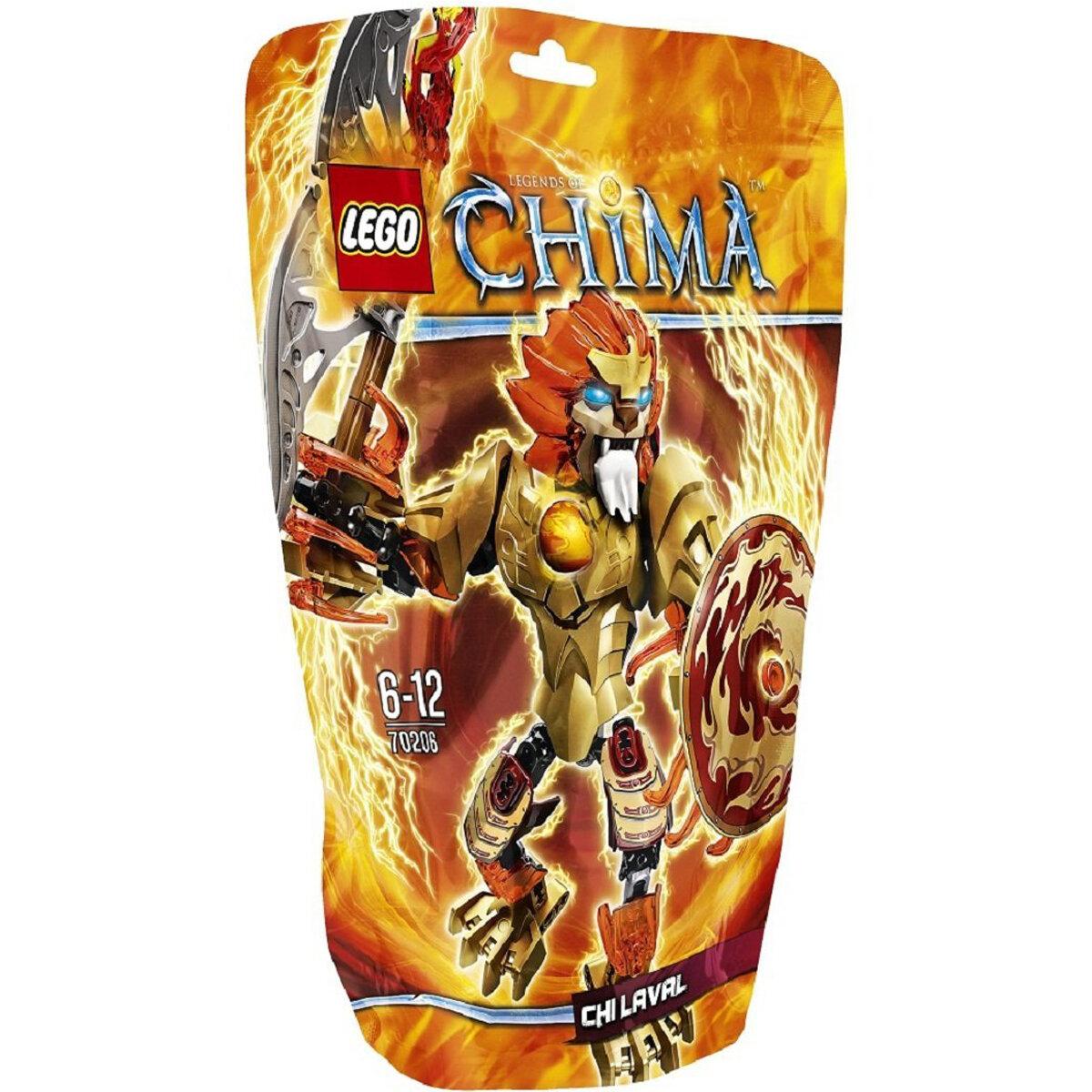 Bộ xếp hình Chiến binh lửa Laval Lego Chima 70206