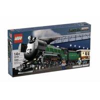 Bộ xếp hình Chuyến tàu đêm màu lục bảo Lego 10194
