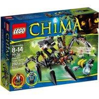 Bộ xếp hình Cỗ máy nhện khổng lồ Sparratus' Spider Stalker Lego Chima 70130