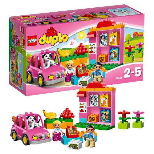 Bộ xếp hình Cửa hàng đầu tiên Lego Duplo 10546 - 2 đến 5 tuổi