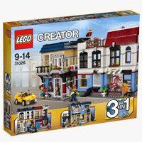 Bộ xếp hình Cửa hàng xe đạp và quán cà phê Lego Creator 31026