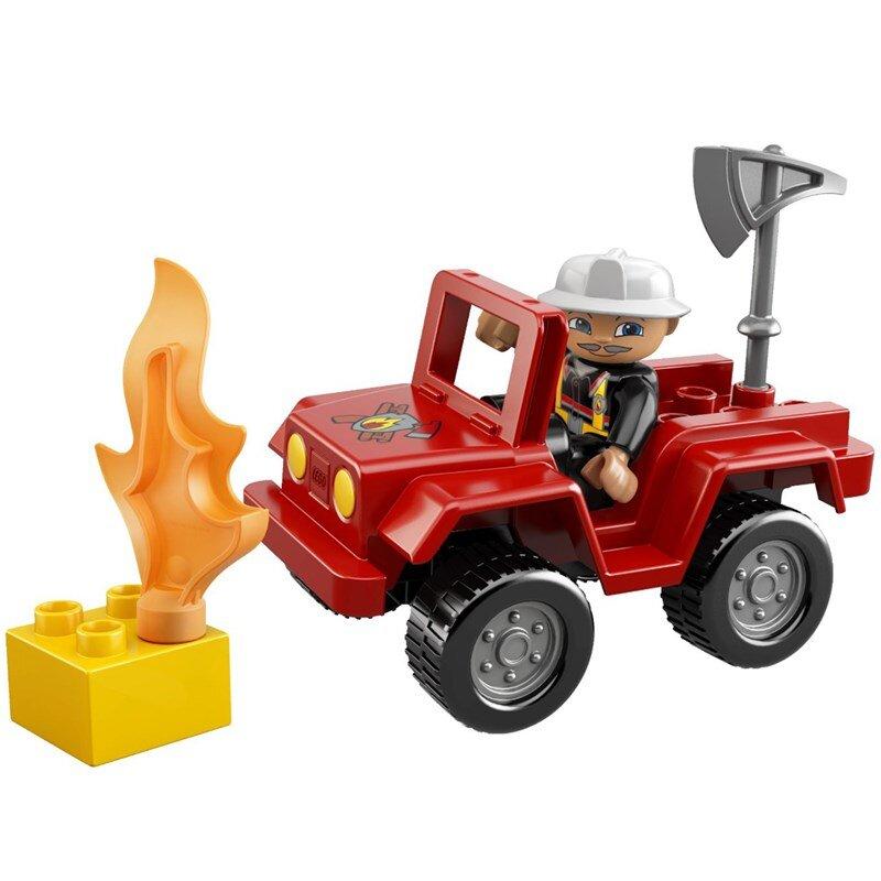 Bộ xếp hình Đội trưởng đội cứu hỏa Lego Duplo 6169