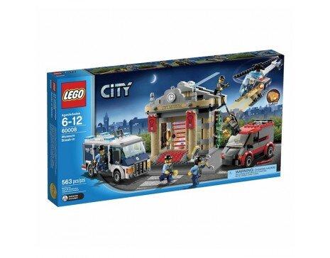 Bộ xếp hình Đột nhập bảo tàng Police Museum Break-in Lego City 60008