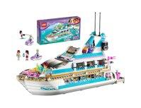 Bộ xếp hình Du thuyền cá heo Lego Friends 41015