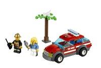 Bộ xếp hình Fire Chirf Car Lego City 60001