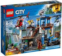 Bộ xếp hình Lego City 60174 - Trụ sở cảnh sát núi rừng