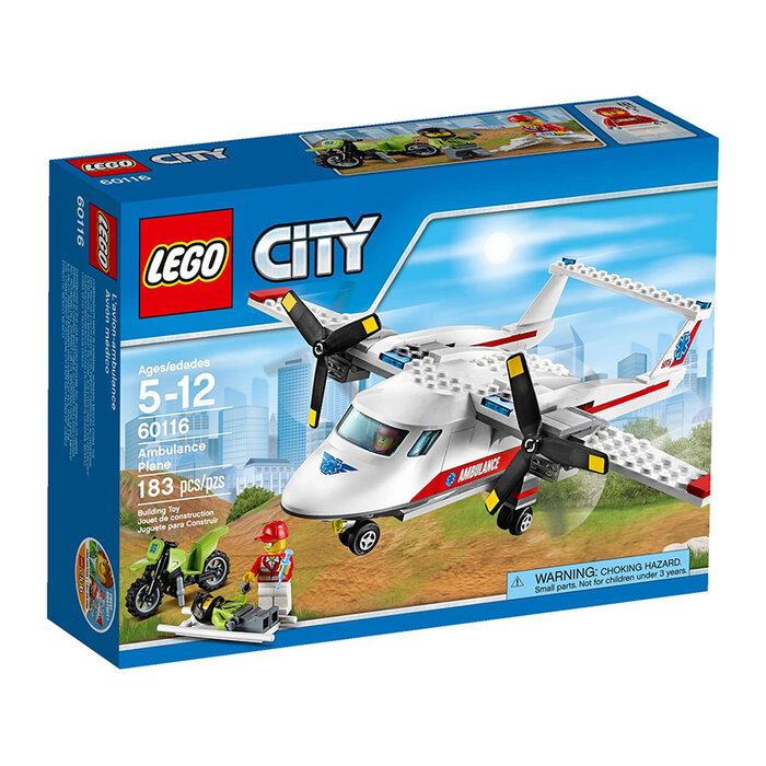 Bộ xếp hình máy bay cứu hộ Lego City 60116