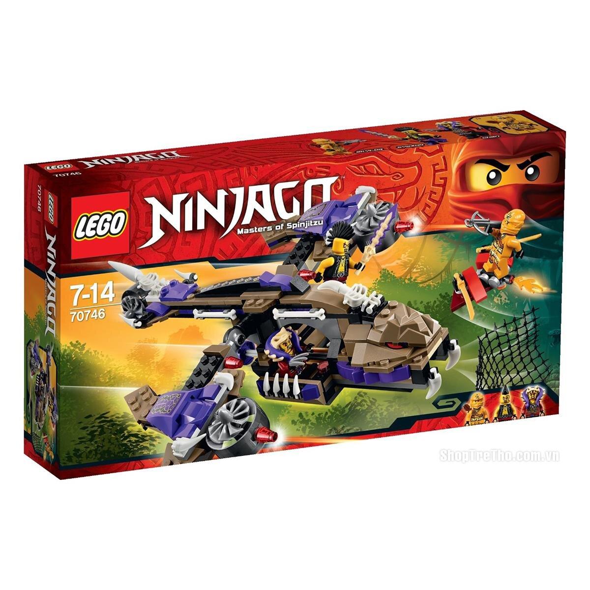 Bộ xếp hình Máy bay độc xà Lego Ninjago 70746