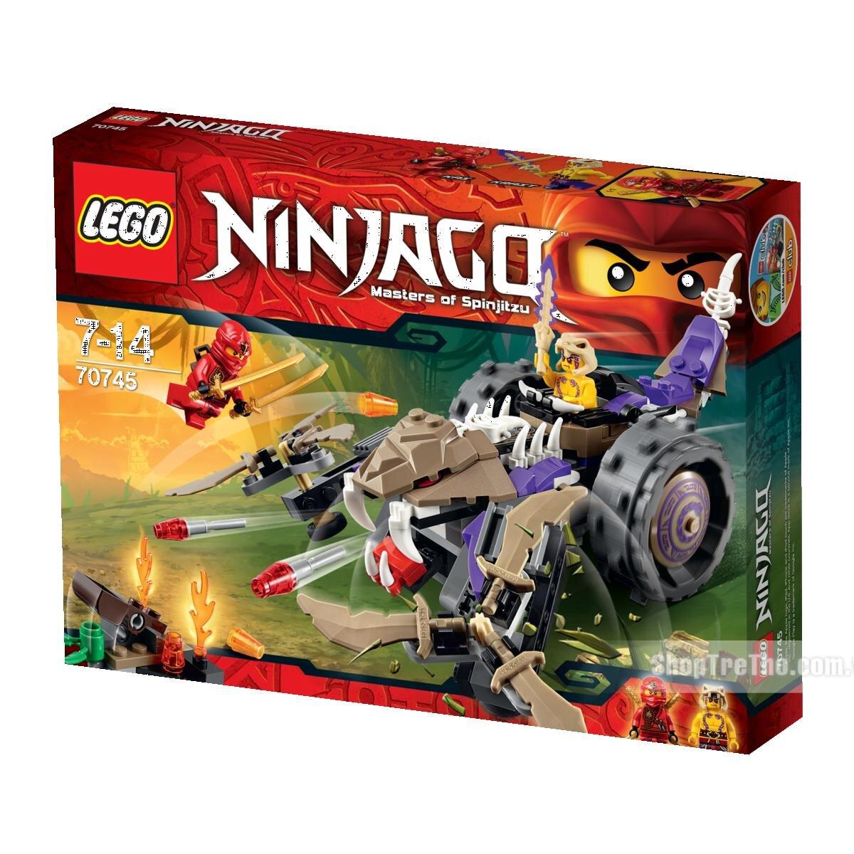 Bộ xếp hình Máy nghiền độc xà Lego Ninjago 70745