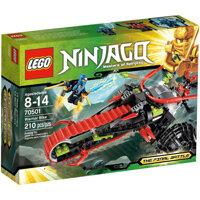 Bộ xếp hình mô tô chiến binh Warrior Bike Lego Ninjago 70501