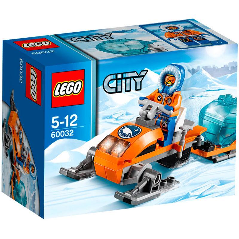 Bộ xếp hình Mô tô trượt tuyết Lego City 60032