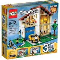 Bộ xếp hình ngôi nhà hạnh phúc Family House Lego 31012