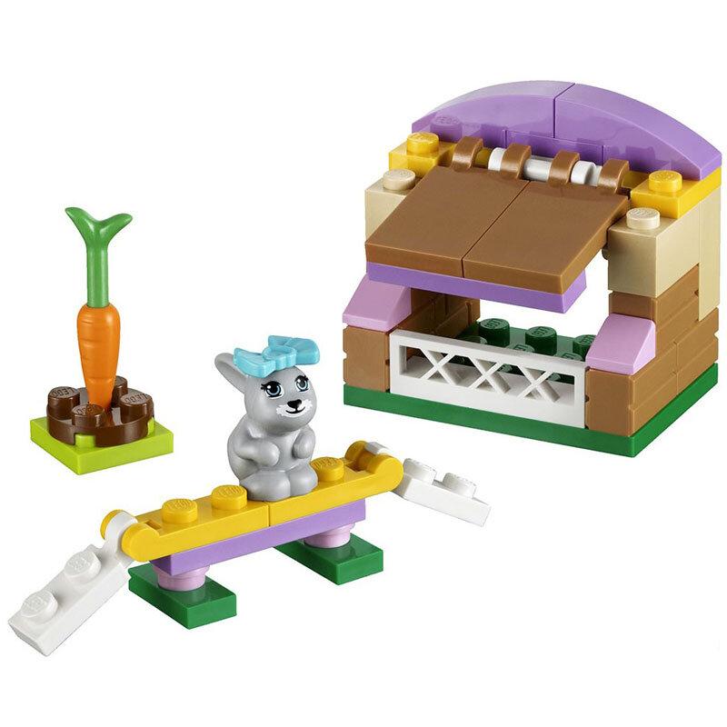 Bộ xếp hình Nhà cho thỏ con Bunny's Hutch V29 Lego Friends 41022