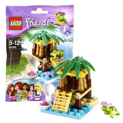 Bộ xếp hình Ốc đảo cho Rùa Turtle's Little V29 Lego Friends 41019