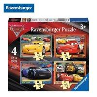 Bộ xếp hình Puzzle Cars Ravensburger RV06894 - 4 bộ