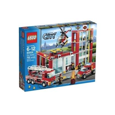 Bộ xếp hình Sở cứu hỏa thành phố Lego City 60004