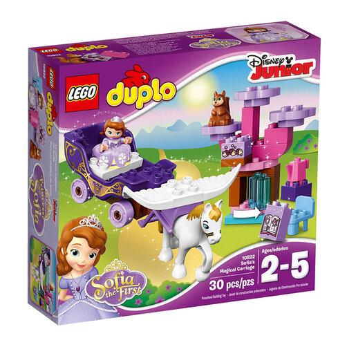 Bộ xếp hình Sofia và xe kéo thần tiên Lego Duplo 10822