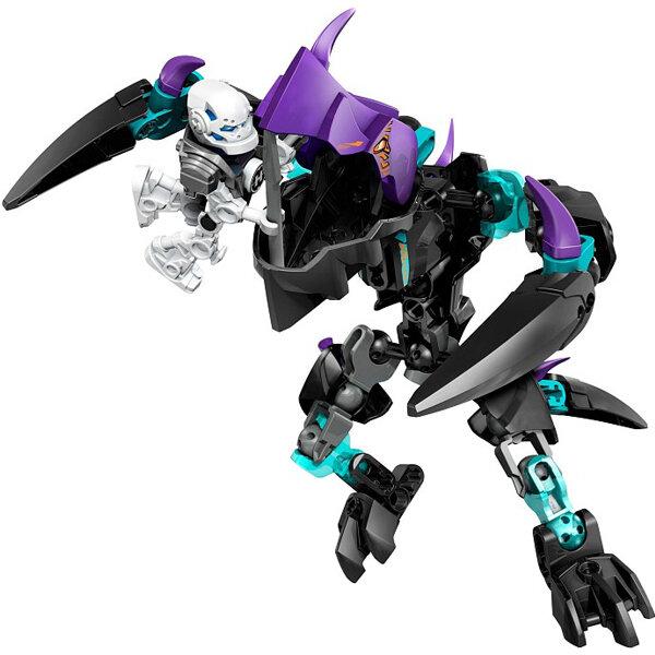 Bộ xếp hình Stormer Đối Đầu Quái Vật Móng Vuốt Lego Hero Factory 44016
