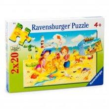 Bộ xếp hình Strandvergnugen Ravensburger 090204