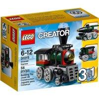 Bộ xếp hình Tàu hỏa ngọc bích Lego Creater 31015