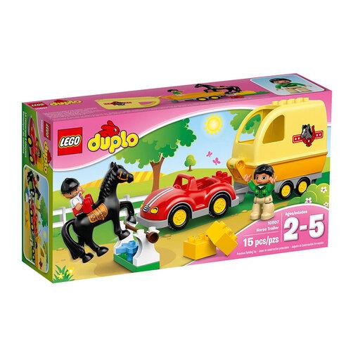 Bộ xếp hình Trại huấn luyện ngựa Lego Duplo 10807