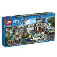 Bộ xếp hình Trạm cảnh sát đầm lầy LEGO City 60069