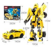 Bộ xếp hình Transformers Robot biến hình Gudi 8711