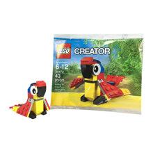Bộ xếp hình Vẹt sặc sỡ Lego Creator 30472