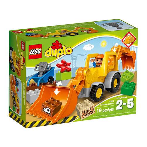 Bộ xếp hình Xe cần cẩu Lego Duplo 10811