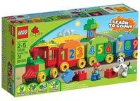 Bộ xếp hình Xe lửa học số Lego 10558