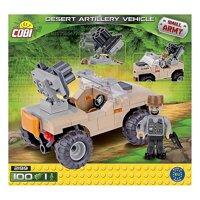 Bộ xếp hình xe pháo binh sa mạc Cobi 2199