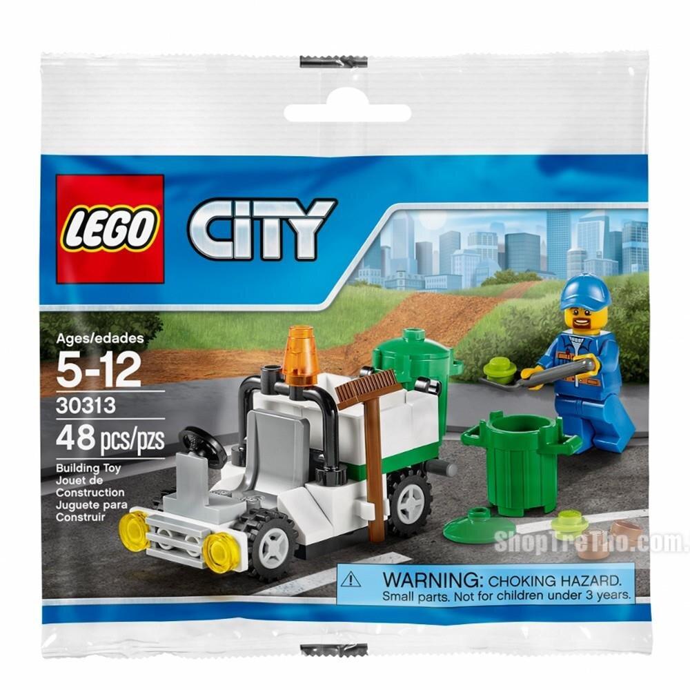 Bộ xếp hình Xe rác Lego City 30313