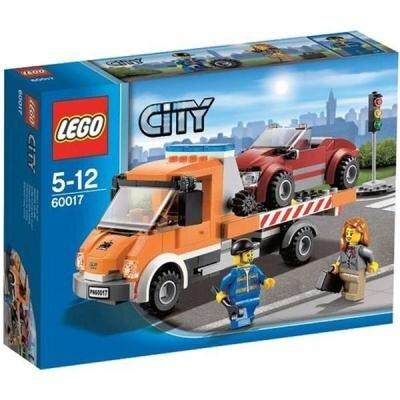 Bộ xếp hình Xe tải chuyên dụng Flatbed Truck V29 Lego City 60017