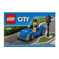 Bộ xếp hình Xe thể thao Lego City 30349