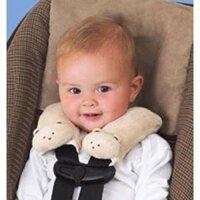 Bọc dây an toàn Summer Cushystraps Ivory Teddy Bear 77490A