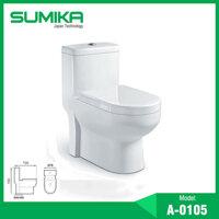 Bồn cầu 1 khối Sumika A-0105