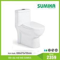 Bồn cầu một khối Sumika 2359