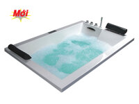 Bồn tắm đôi massage Caesar MT7180C