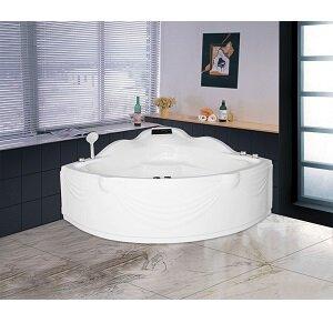 Bồn tắm góc massage Euroca EU2 1300 - (Acrylic, crystal, galxy)