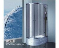 Bồn tắm vách kính Govern LV-93P
