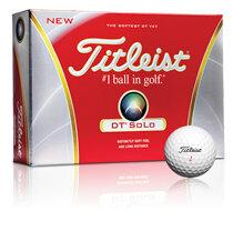 Bóng golf Titleist DT Solo T6022S-NP (hộp 3 trái)