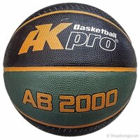 Bóng rổ cao su AKpro AB2000