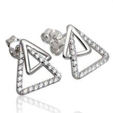 Bông tai bạc PNJ Silver SBD2KN09980.100